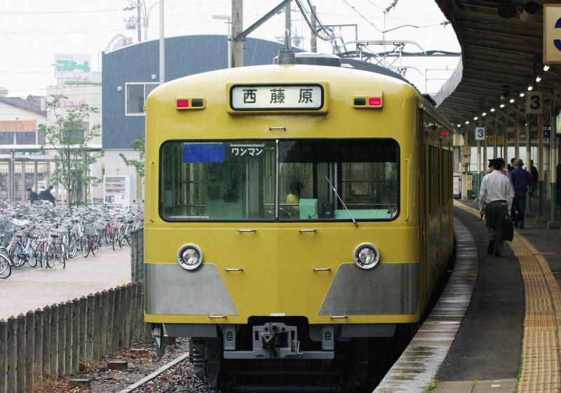 西武鉄道 三岐鉄道 三岐線 701系 801形 復刻西武イエロー色