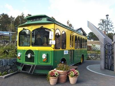 清里駅のバスのの2
