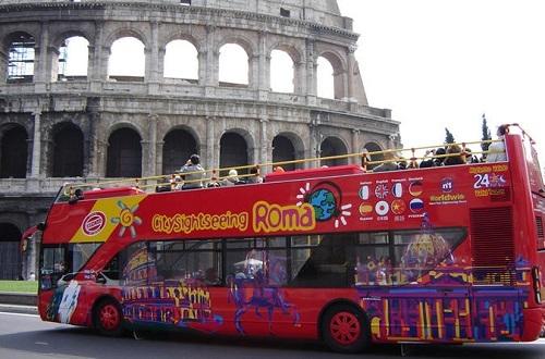 ローマ観光バス