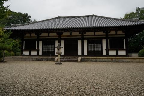 秋篠寺・本堂1