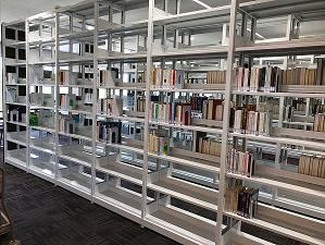 20181009スカスカの図書館棚
