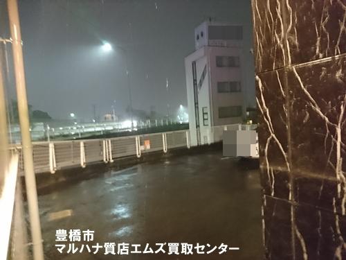 台風24号 マルハナ質店