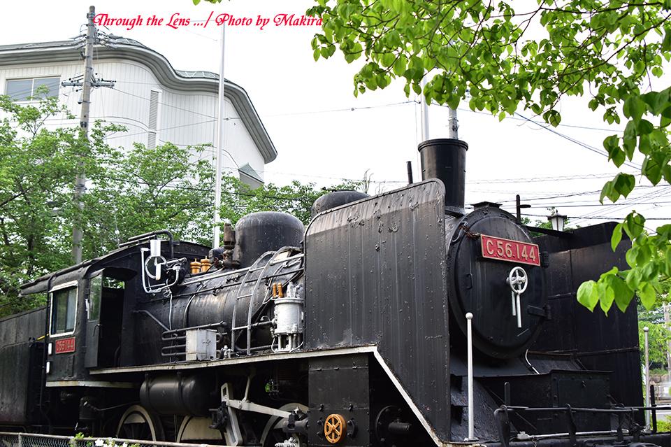 展示蒸気機関車56D2