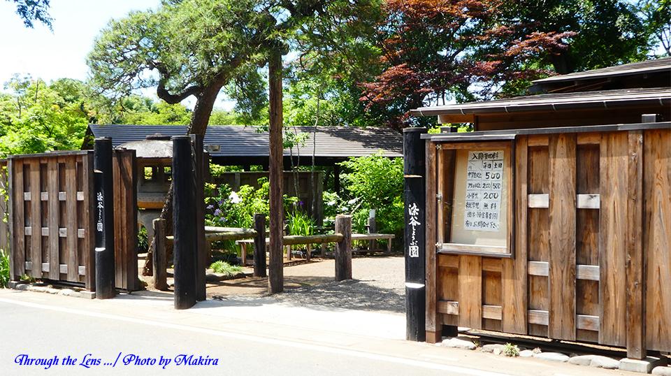 染谷しょうぶ園入口TZ1