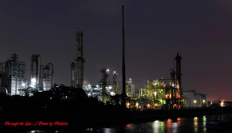川崎工場夜景2-1