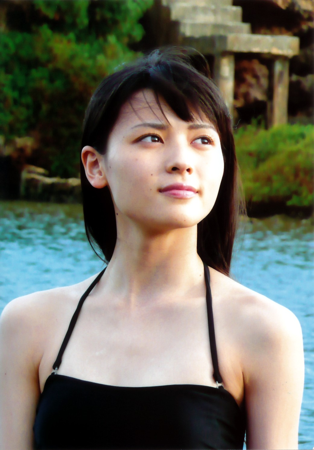 090710矢島舞美最新写真集『17』オフショット生写真1枚付き⑤