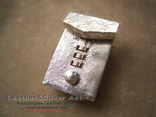 シルバー ダイヤル金具式 925