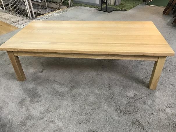 無印良品無垢材ローテーブル (4)