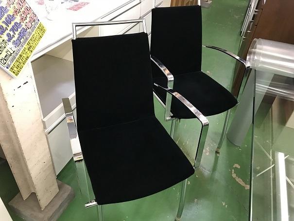 ガラスダイニングセット (1)