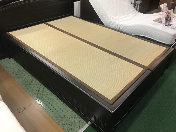 畳跳ね上げダブルベッド (1)