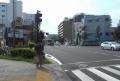 吉野町駅交差点(左折すると国道16号)