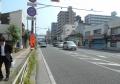 国道16号(吉野町駅交差点を左折したところ)