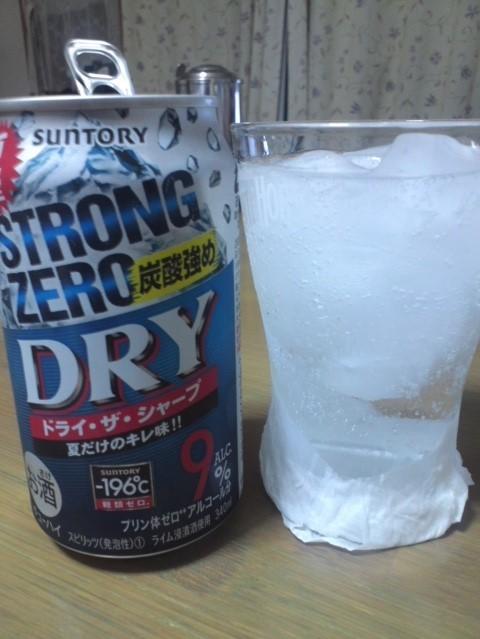 サントリー夏限定「STRONG ZERO 炭酸強め DRY ドライ・ザ・シャープ」