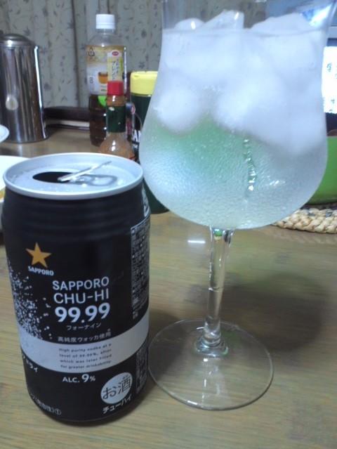 SAPPORO CHU-HI 99.99(フォーナイン) クリアドライ