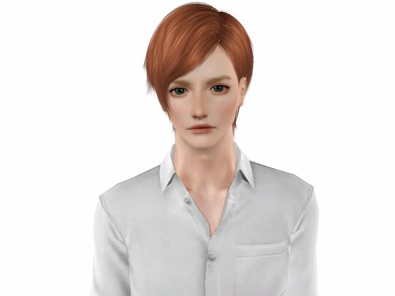 〔Sims3 で創作〕男性シムの作成方法。