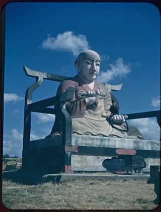聚楽園弘法大師像と米軍軍人~愛知県