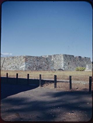 名古屋城の焼け跡~愛知県