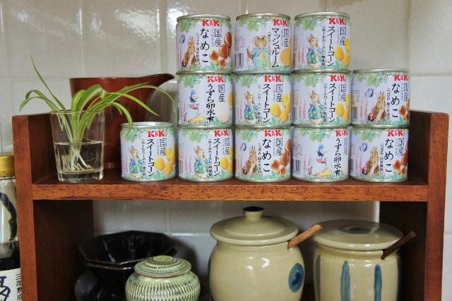 ピーターラビットの缶詰 ①