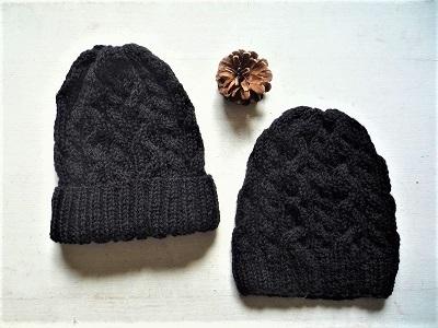 2ブラック帽
