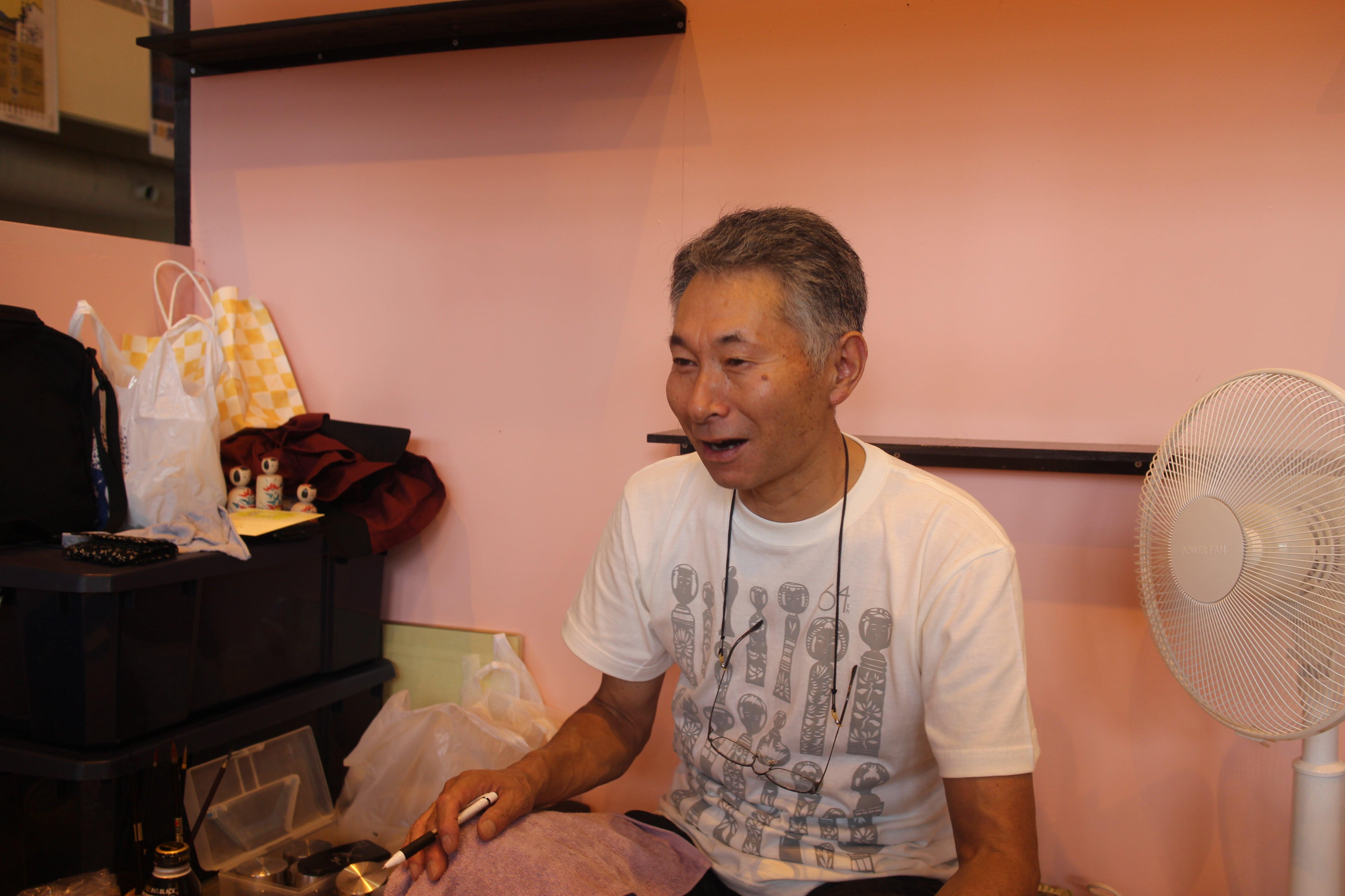 3招待工人    三春文雄-min