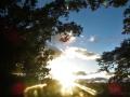 日没前の輝き