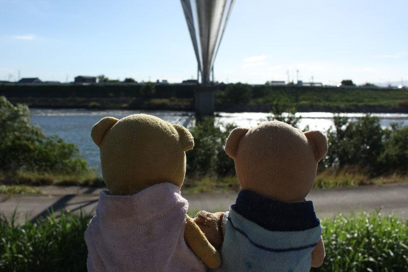水管橋と 180825