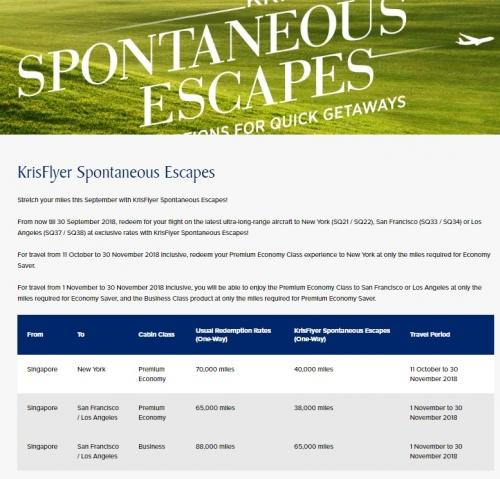 シンガポール航空とシルクエアーで特典航空券の必要マイルが最大50%OFF