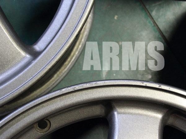 GTRホイールの傷修理