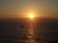 ミコノスの夕日