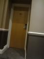 ベストウエスタンコロナホテル 部屋のドア