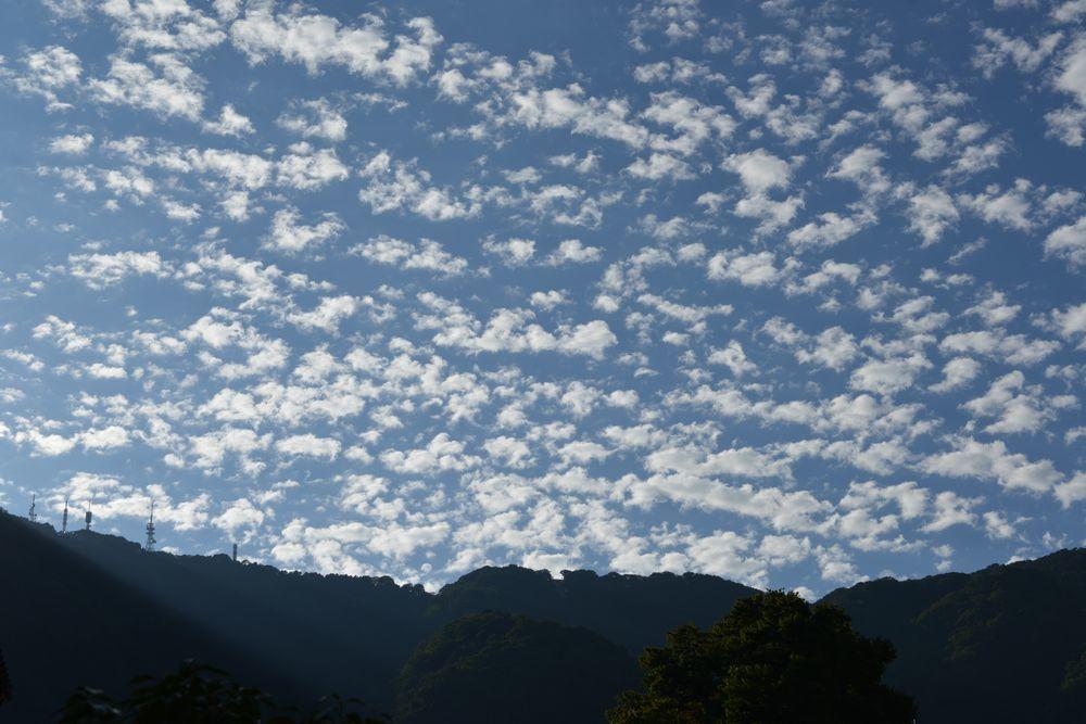 夏空の雲-4