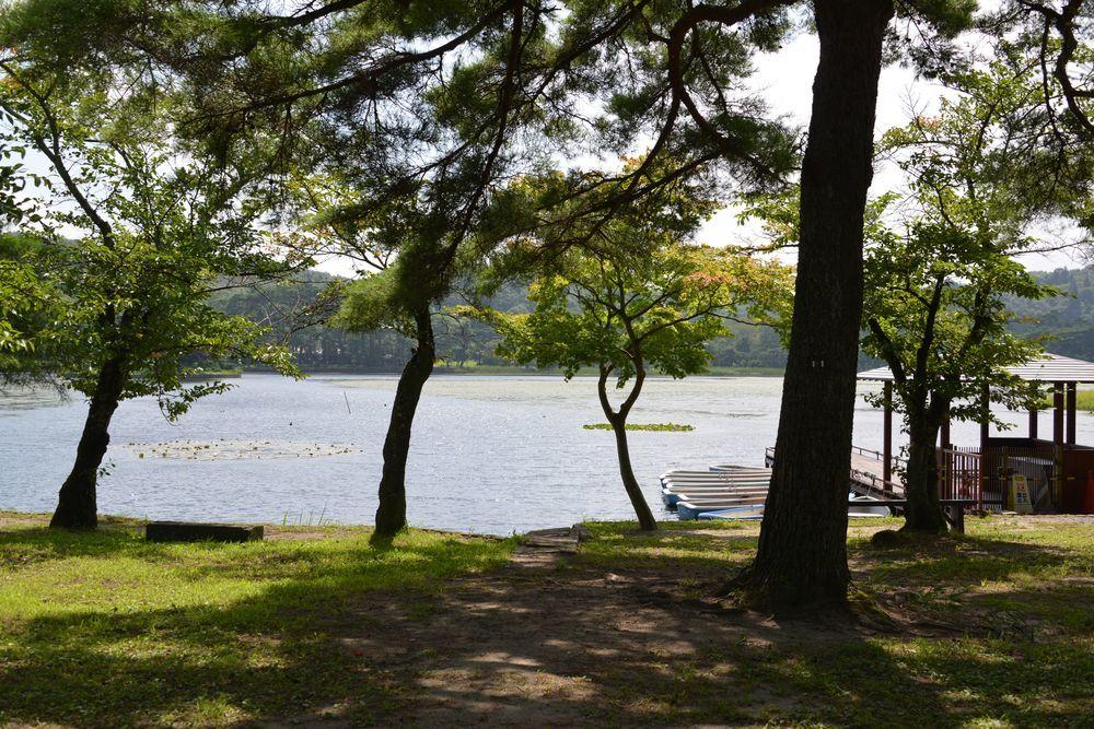 南湖と翠楽苑-1