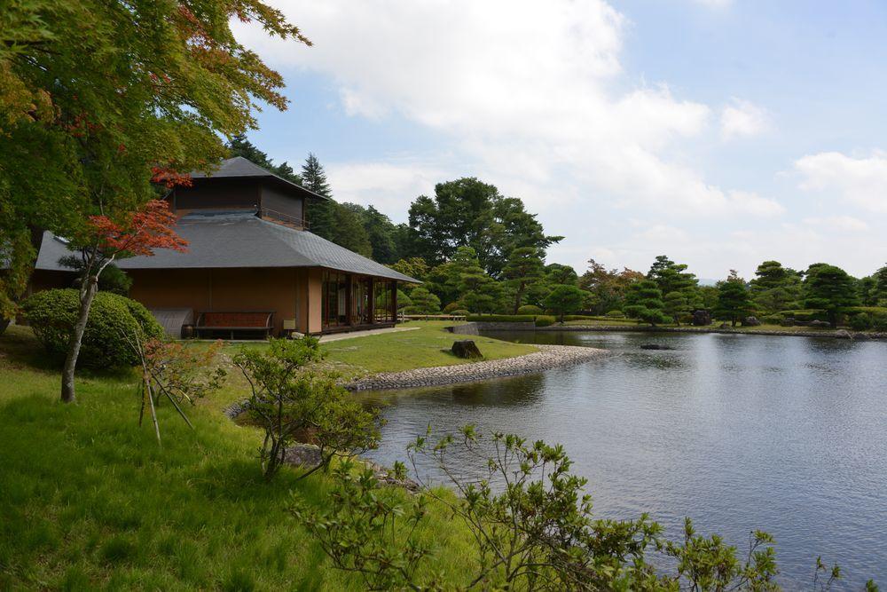 南湖と翠楽苑-4
