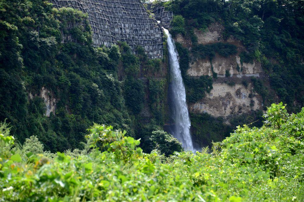 河岸段丘の滝Ⅱ-4
