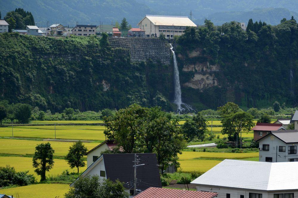 河岸段丘の滝Ⅱ-5