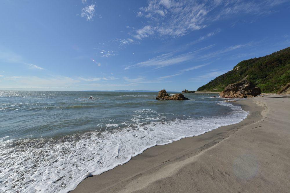 海岸を歩く-1