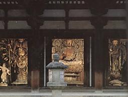 唐招提寺金堂佛像