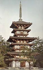 薬師寺東塔カラー