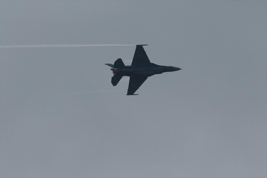機体の左を下にしての飛行_4