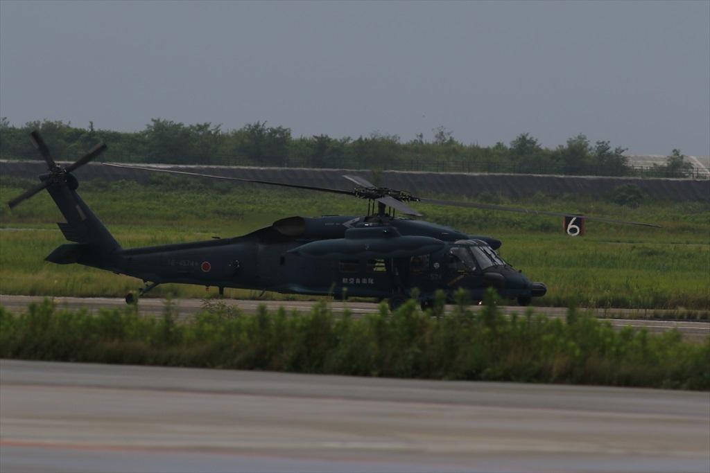 待機中のUH-60J_1