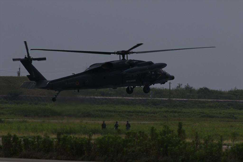 待機中のUH-60J_4