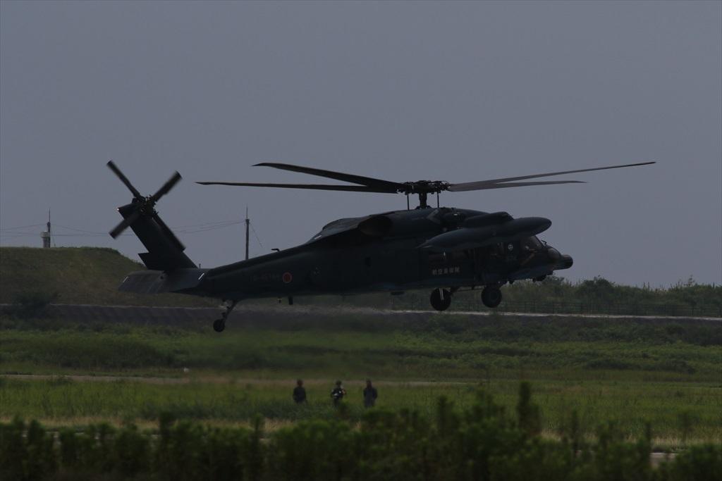 待機中のUH-60J_6