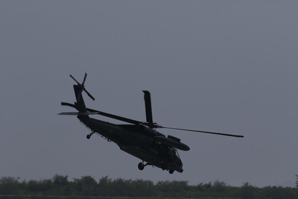 待機中のUH-60J_8