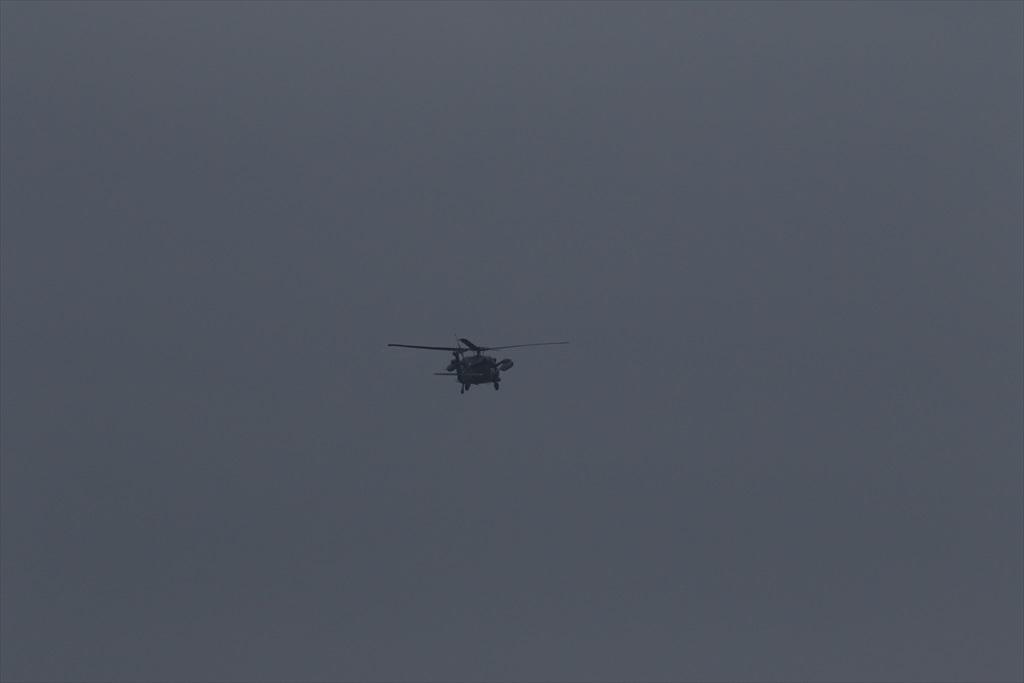 待機中のUH-60J_9