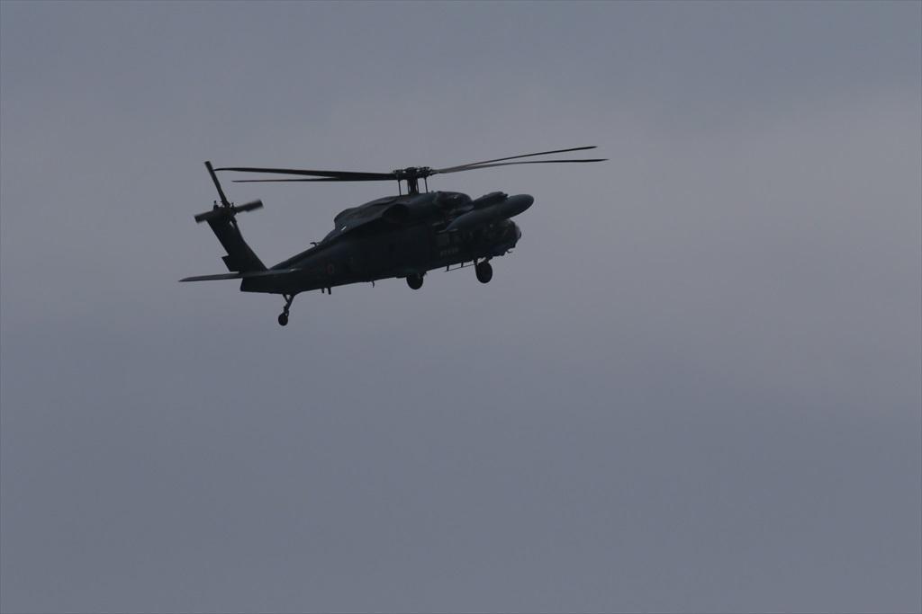 救難ヘリコプターUH-60Jの出動_1