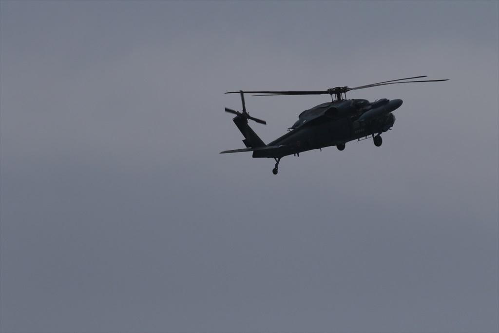 救難ヘリコプターUH-60Jの出動_3