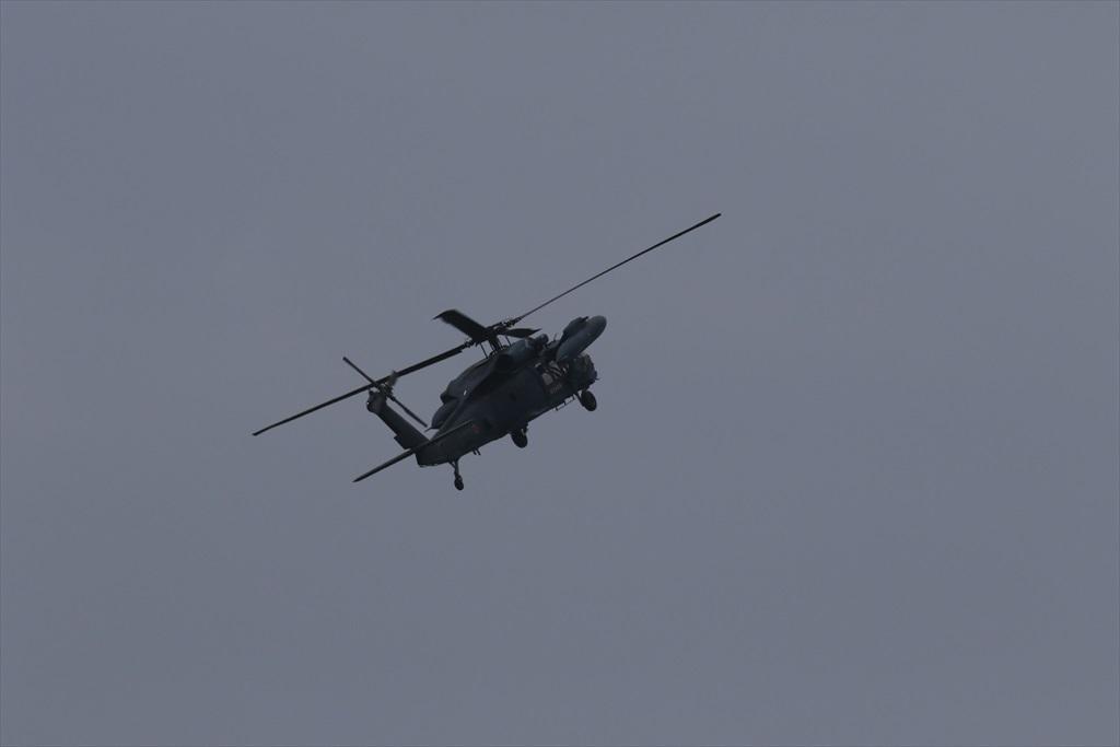 救難ヘリコプターUH-60Jの出動_4