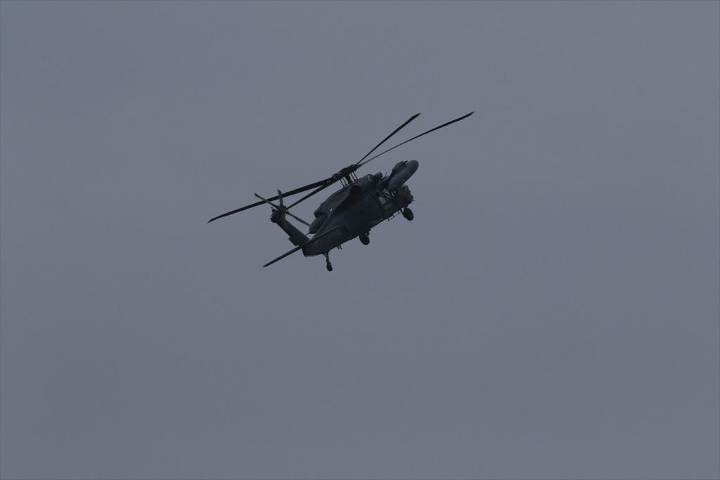 救難ヘリコプターUH-60Jの出動_5