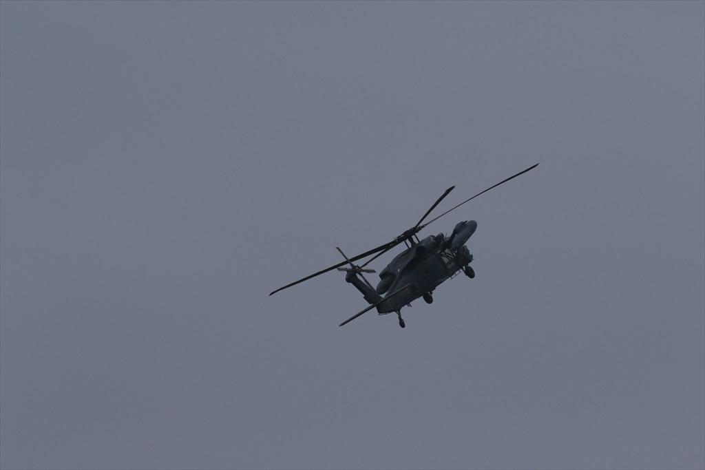 救難ヘリコプターUH-60Jの出動_7