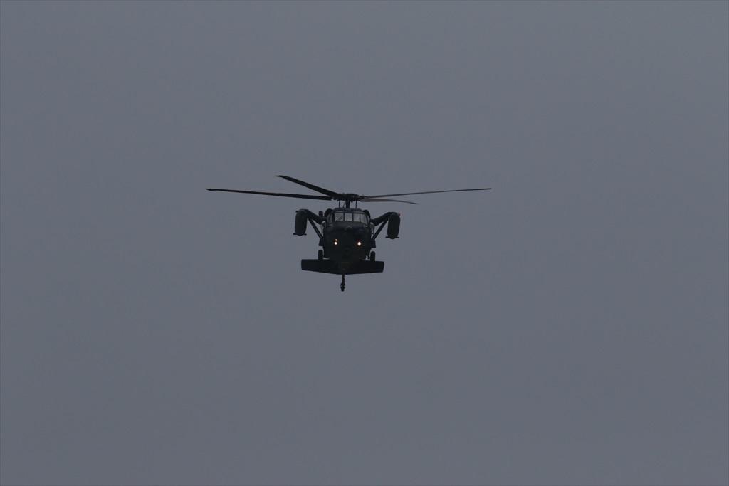 救難ヘリコプターUH-60Jの出動_8